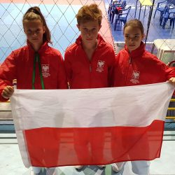 Medale Mistrzostw Świata w Taekwon-do dla Torunia, Mławy oraz Lidzbarka.
