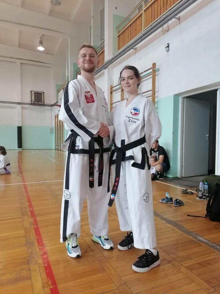 Taekwondo Toruń z nowym instruktorem