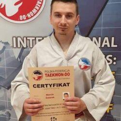 Taekwondo Chełmża - Marcin Celarek